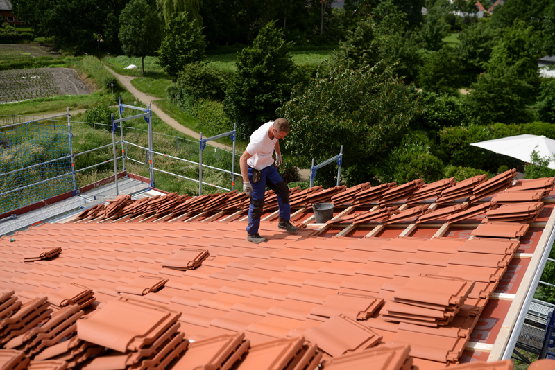 can you walk on a tiled roof