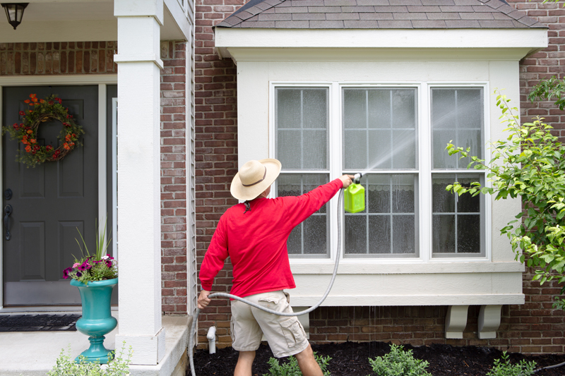 How To Clean Outside of House Without A Pressure Washer