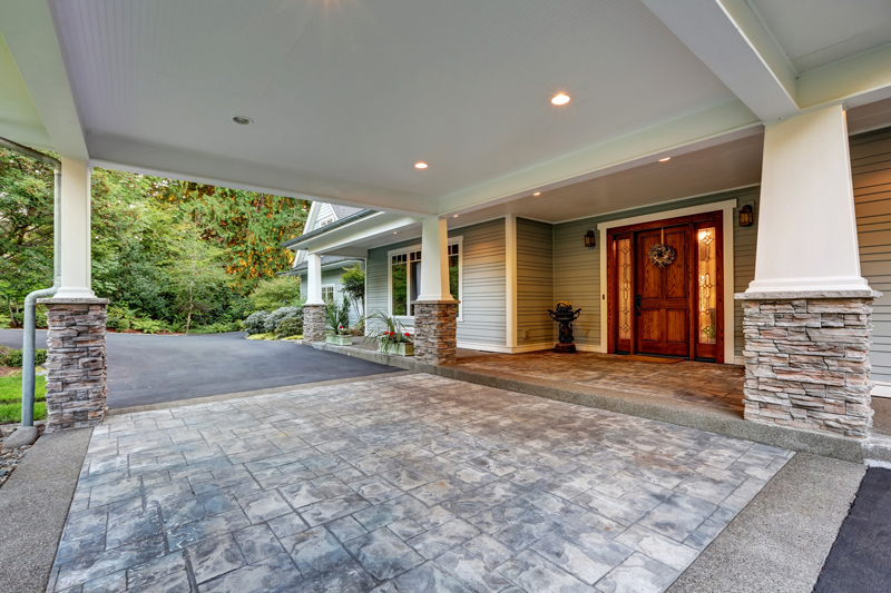 how to level a driveway