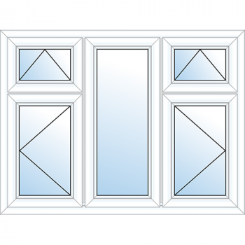 5 Pane Window