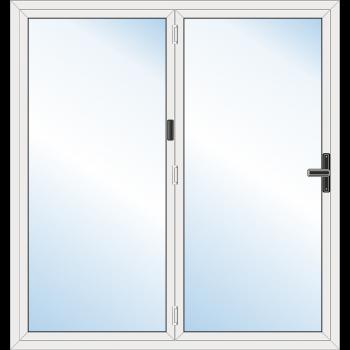 2 Leaf Bi-Fold Door