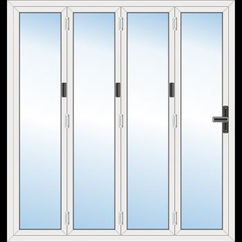 4 Leaf Bi-Fold Door