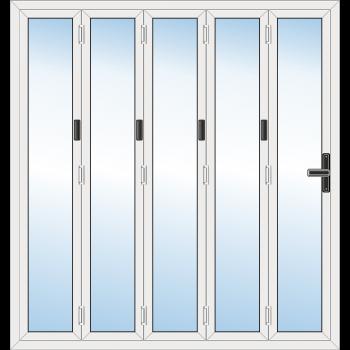 5 Leaf Bi-Fold Door