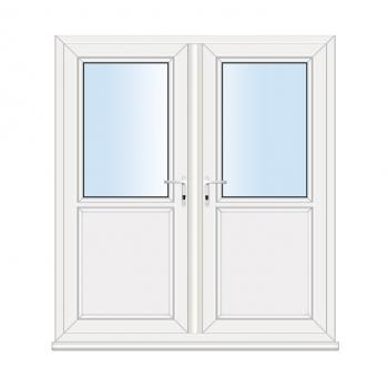 French Door: Flat Panel
