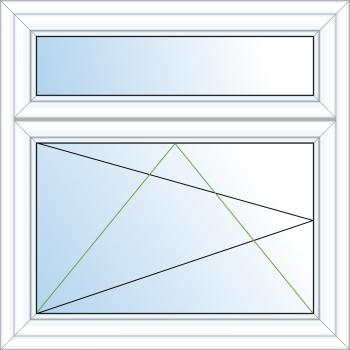 2 Pane Tilt & Turn Window