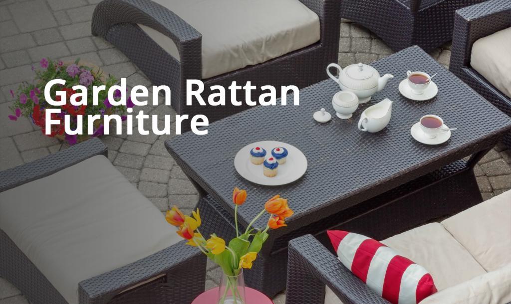Garden Rattan Furnitures