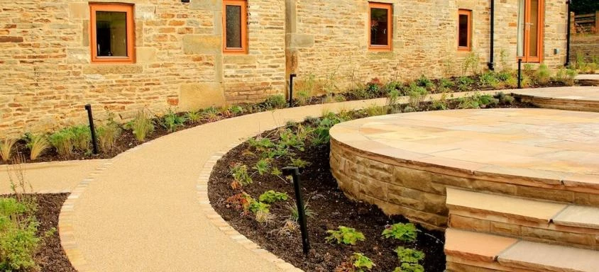 Resin Bound Garden Pathway Surface