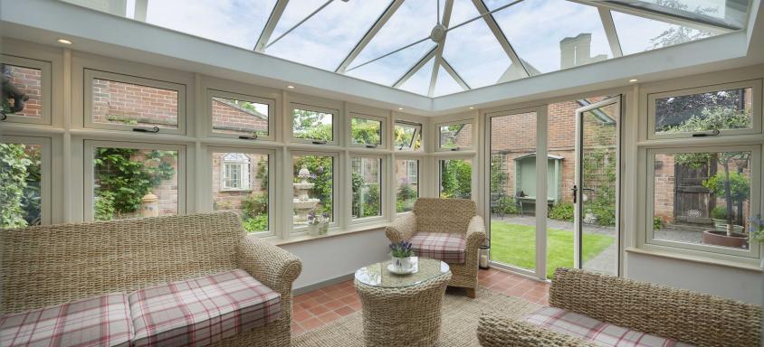 R9 Triple Glazing Windows Conservatory Installation
