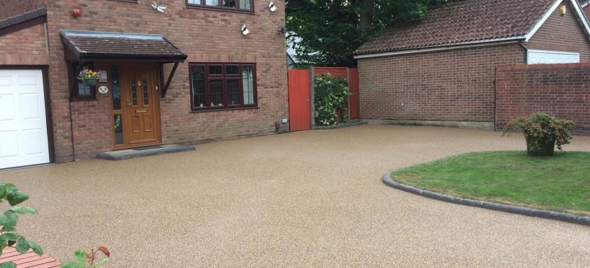 Resin Bound Driveway Home Logic
