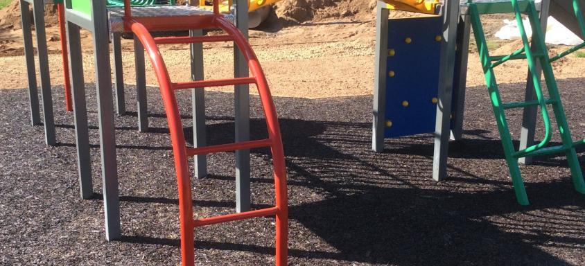 Resin Bound Rubber Playground
