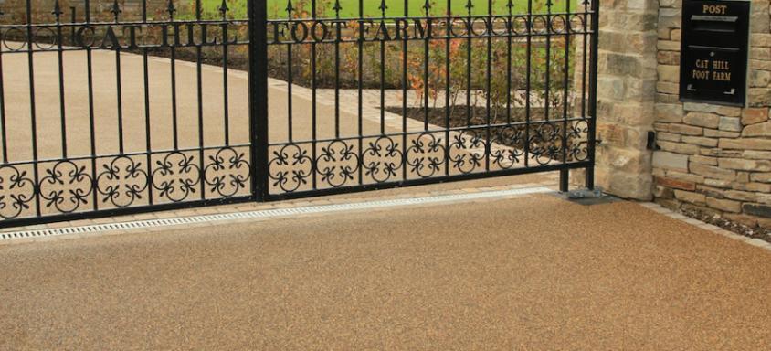 resin driveway gates