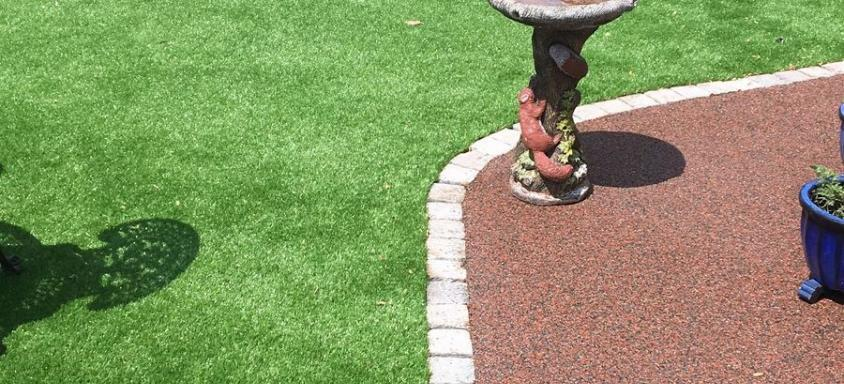 resin edging garden pathways