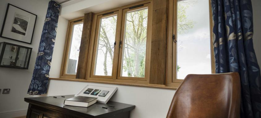 Wood Look Casement Windows Design Ideas