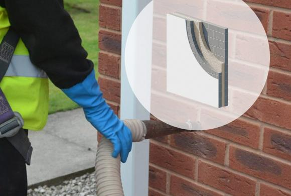 Spray Foam Insulation (Cavity Wall)