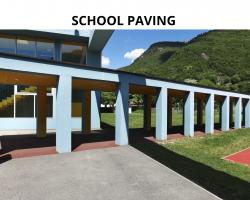 Resin School Paving