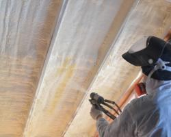 Loft Spray Foam Insulation