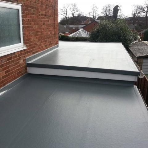 Flat Roofing (Fibre Glass)