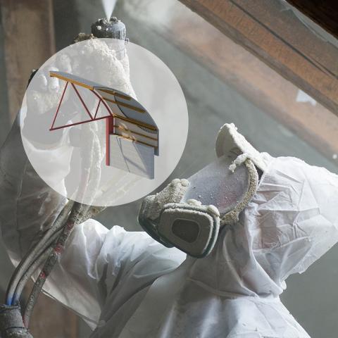ICYNENE MDR-210 (Closed Cell Spray foam insulation)