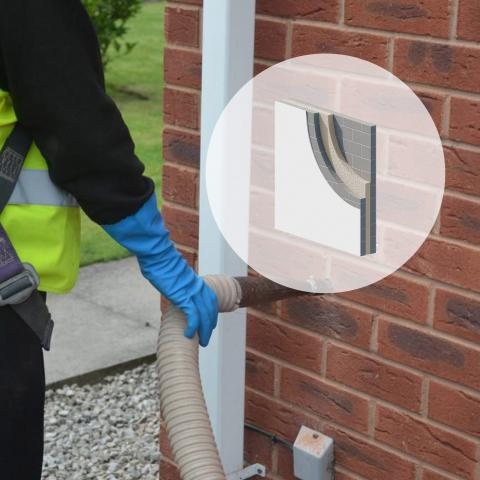 ICYNENE Pour Fill (Cavity Wall insulation)