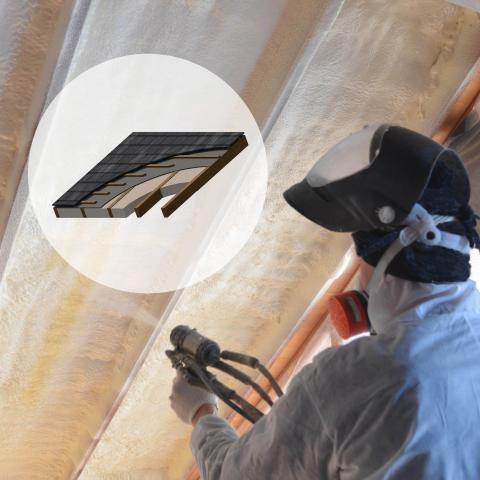 ICYNENE LDC-50  (Open Cell Spray foam insulation)