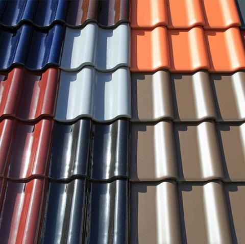 Coloured Roof Coatings
