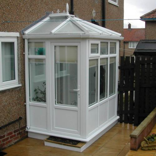 Edwardian Porch UPVC