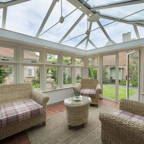 CONSERVATORY GLASS ROOFS