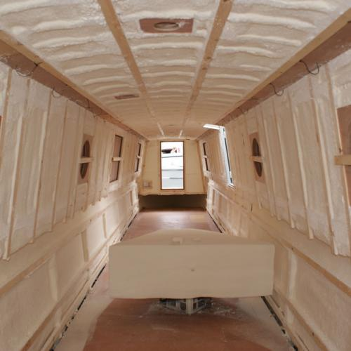 Marine Boat Spray Foam Insulation
