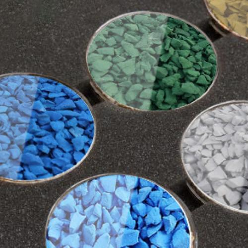 Resin Rubber Playground Flooring Colour