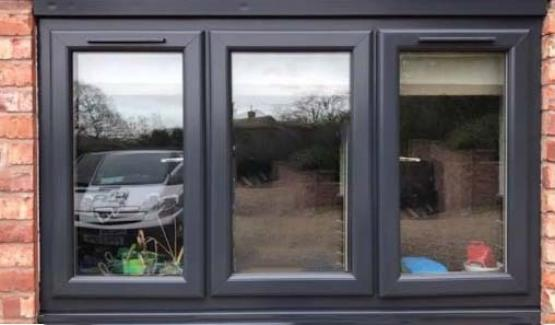 After window protective coating on window