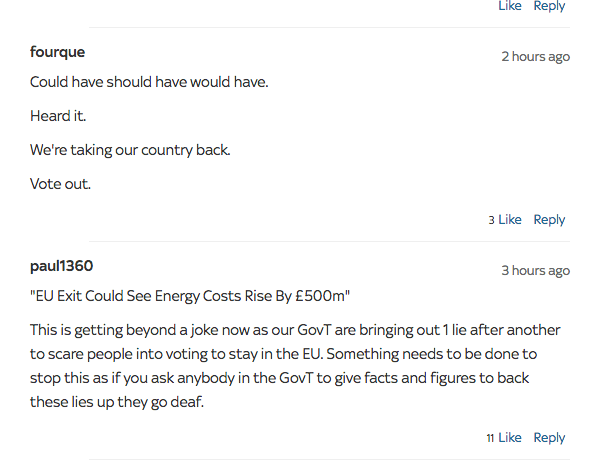 Is leaving the EU going to effect your Energy Bill