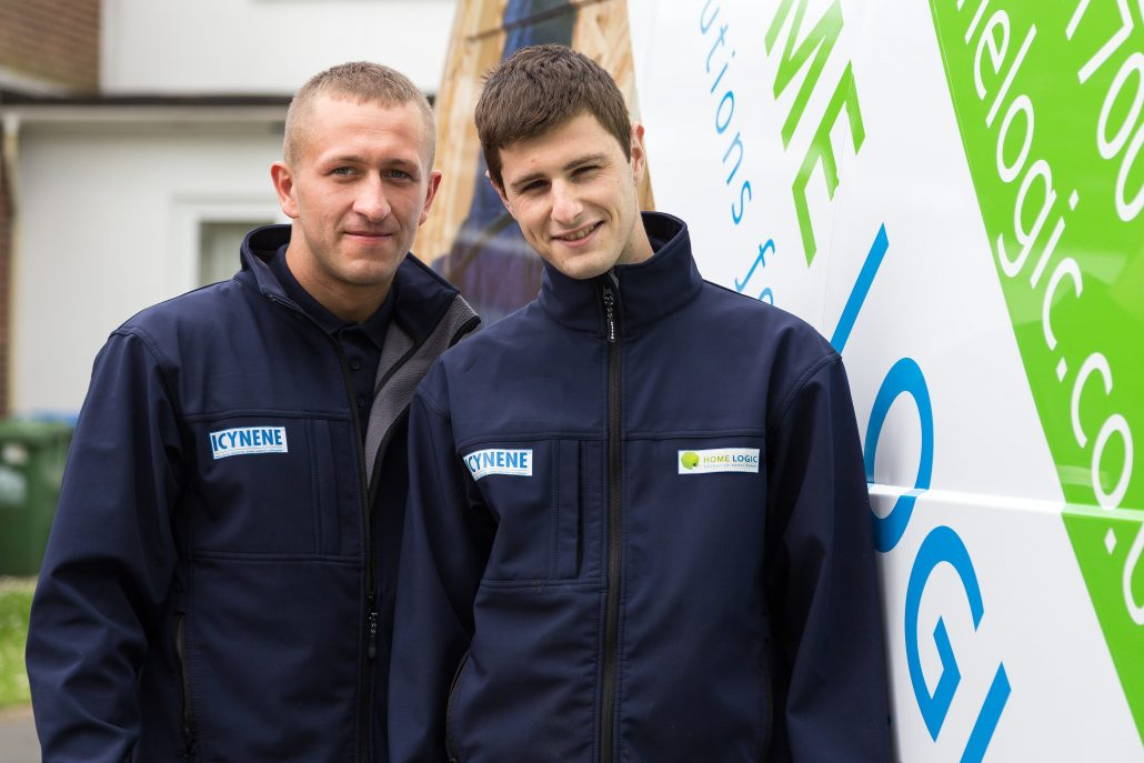 Installers trained in Icynene insulation safety