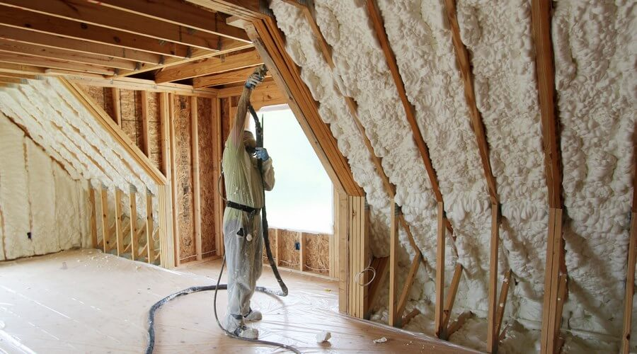 Insulating your attic with icynene home logic insulate your attic with icynene solutioingenieria Gallery