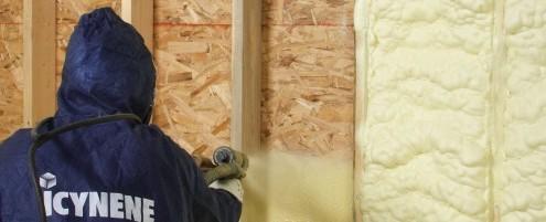 Icynene Loft Insulation How does loft insulation work