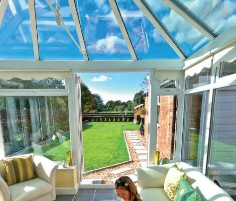 Conservatory Roof Glass Replacement