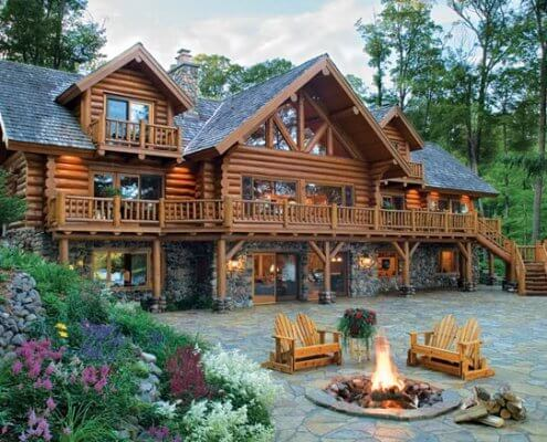 Insulation Considerations For Log Cabin Walls