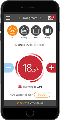 PassivLiving Heat App Features