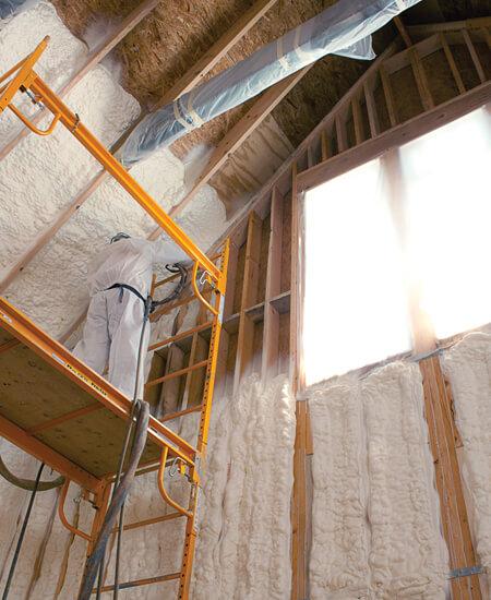 home improvement recommendations spray foam