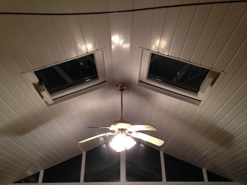 conservatory lightweight roof systems