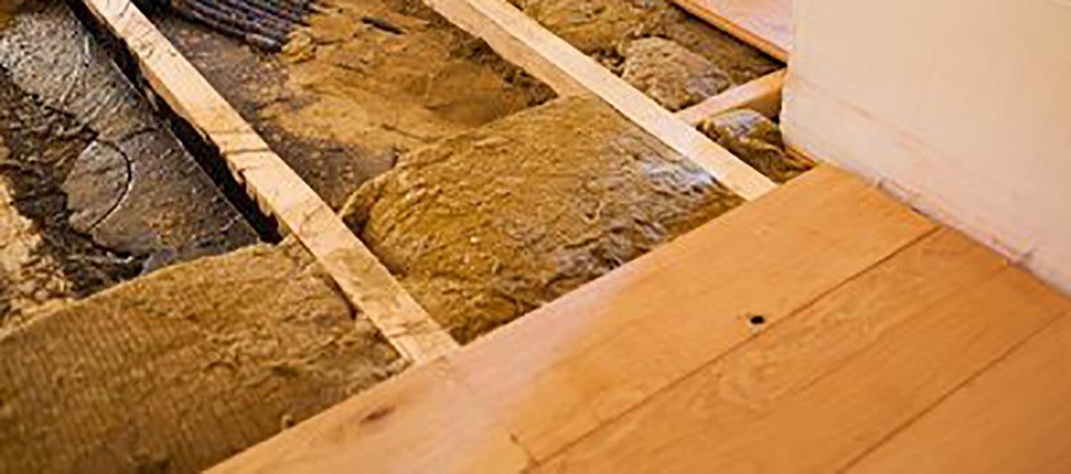 how to reduce heat loss through the floor