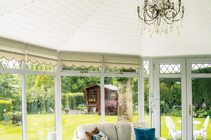 how to make your conservatory cosy