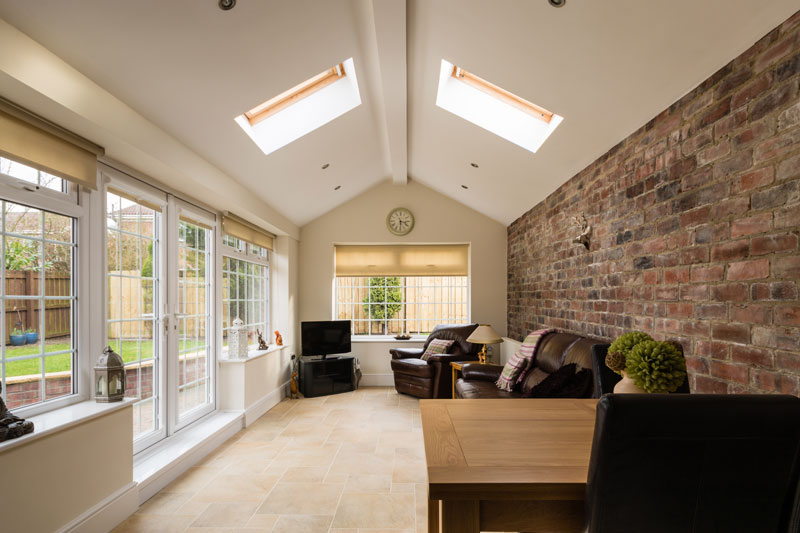 replacing your glass conservatory roof with a normal roof