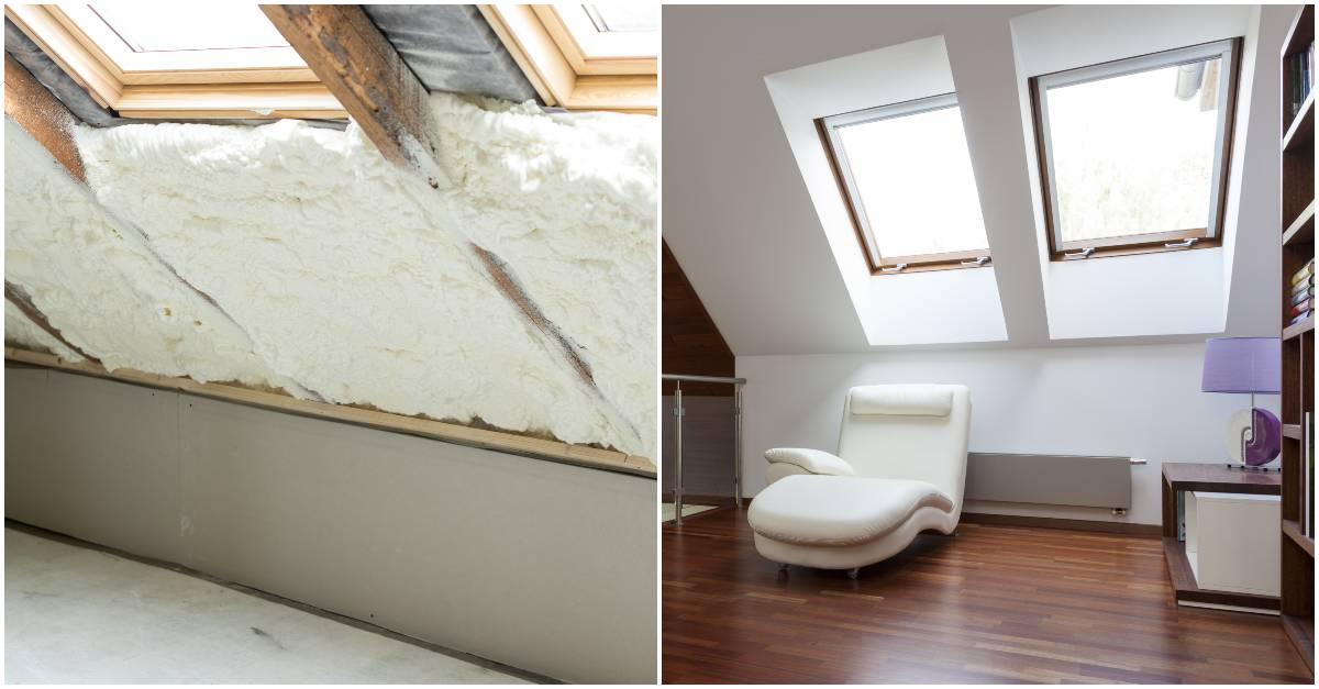 is spray foam insulation good or bad