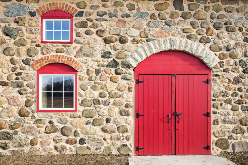 how to insulate a stone house