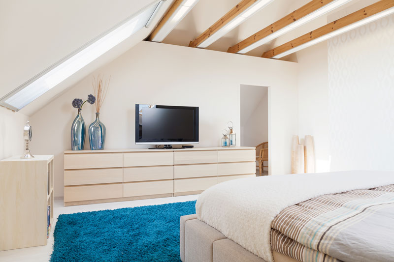Minimise Your Heat Loss By Insulating An Attic Room Home