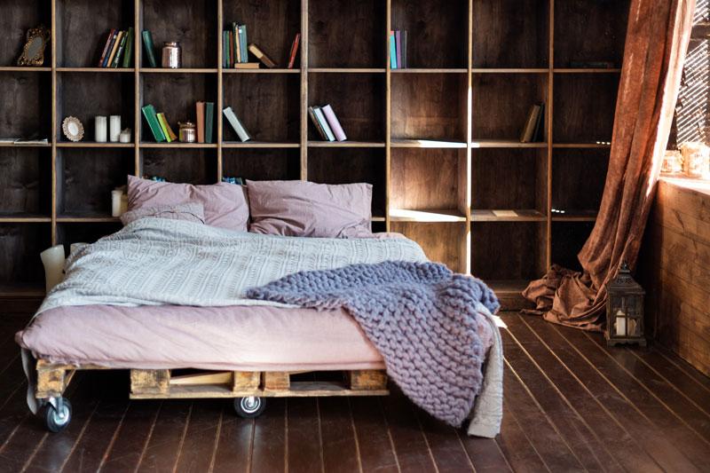 insulating attic trusses