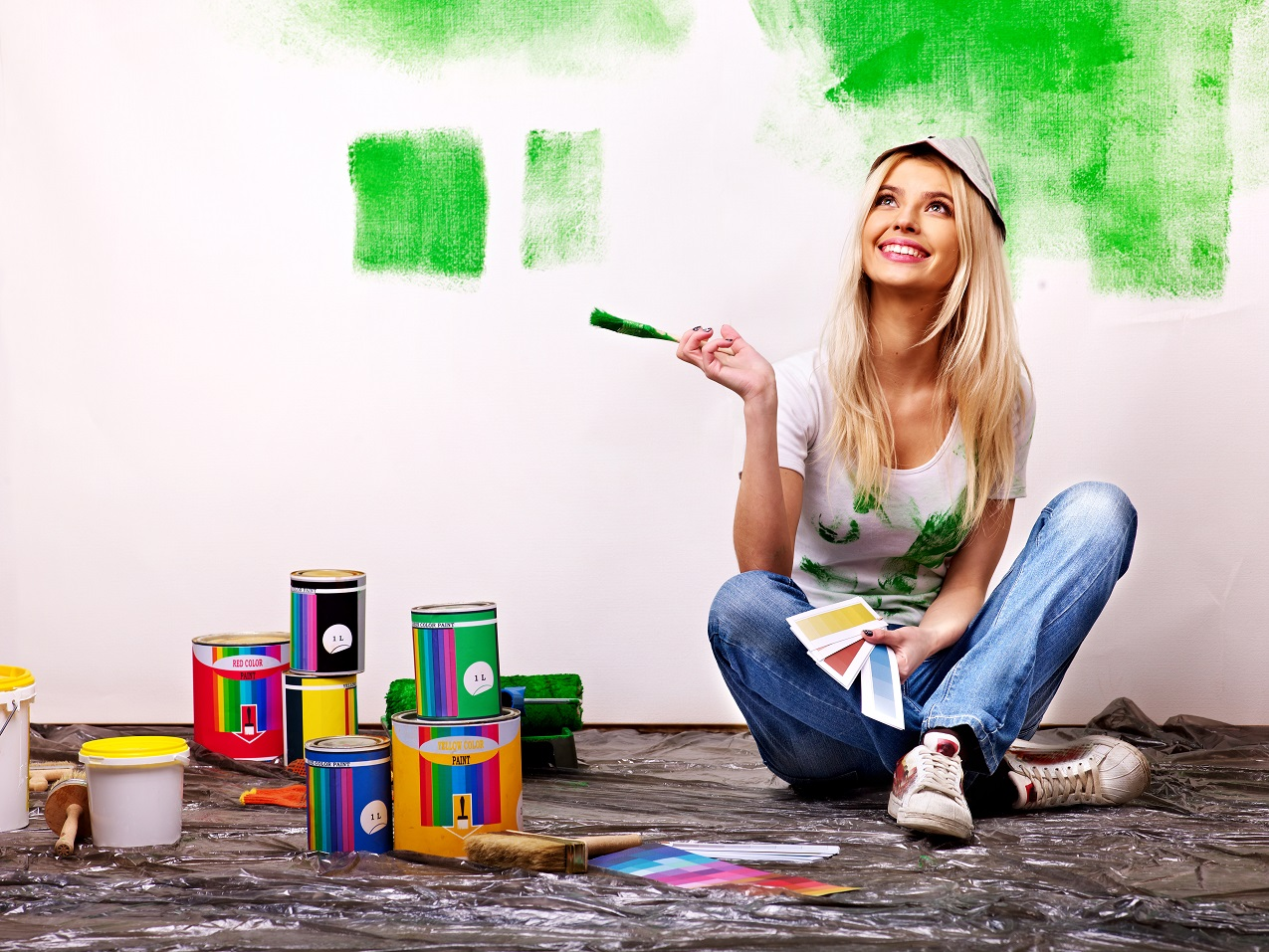 can you use exterior paint indoors