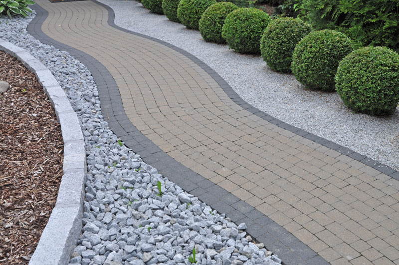 how to lay a gravel path on soil