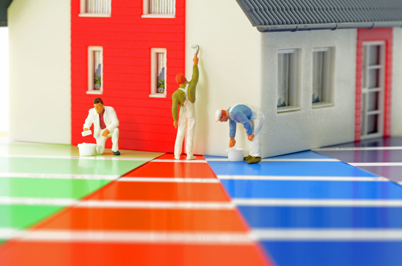 is oil based paint better for house exterior