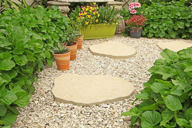 recommended gravel depth for driveway How To Make A Gravel Walkway